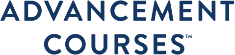 Advancement Courses Logo